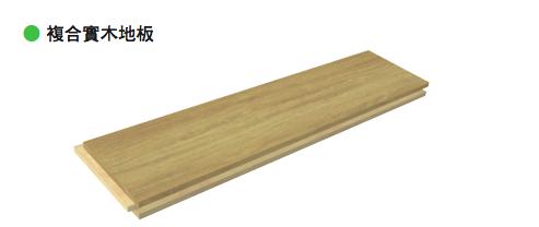 合实木地板则分为「方形铺法」