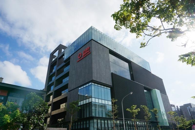 台北設計建材中心外觀照。.JPG