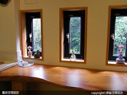 [魔術空間設計]室內設計作品-原創空間設計-實木和室設計 日式別墅現代融合傳統