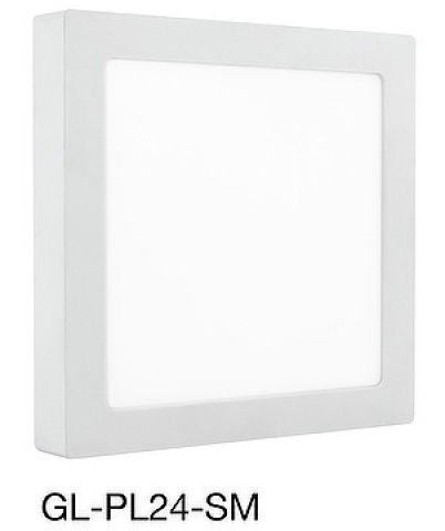 LED Surface Mounted Panel Light 17.3W/Interior Lighting/GL-PL24-SM