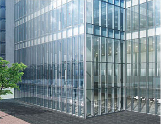 Curtain wall 帷幕牆