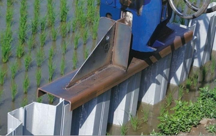 炜鑫实业-塑钢板桩