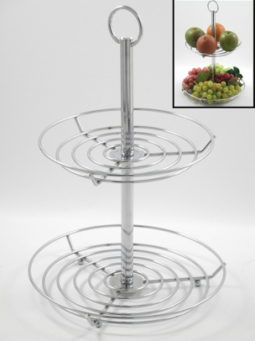 Fruit Basket with Tiers